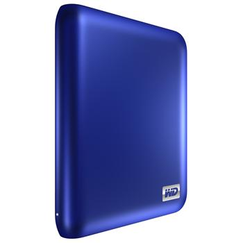 WDBACX0010BBL-EESN НЖМД WD 2.5 USB 3.0/2.0 1000GB 5400rpm MyPassport Essential 3.0 Metallic Blue