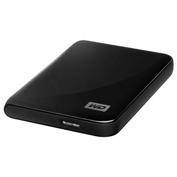 WDBACY5000ABK-EESN НЖМД WD 2.5 USB 3.0/2.0 500GB 5400rpm MyPassport Essential 3.0 Black